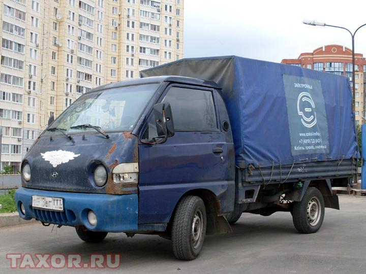 Мой служебный Hyundai Porter