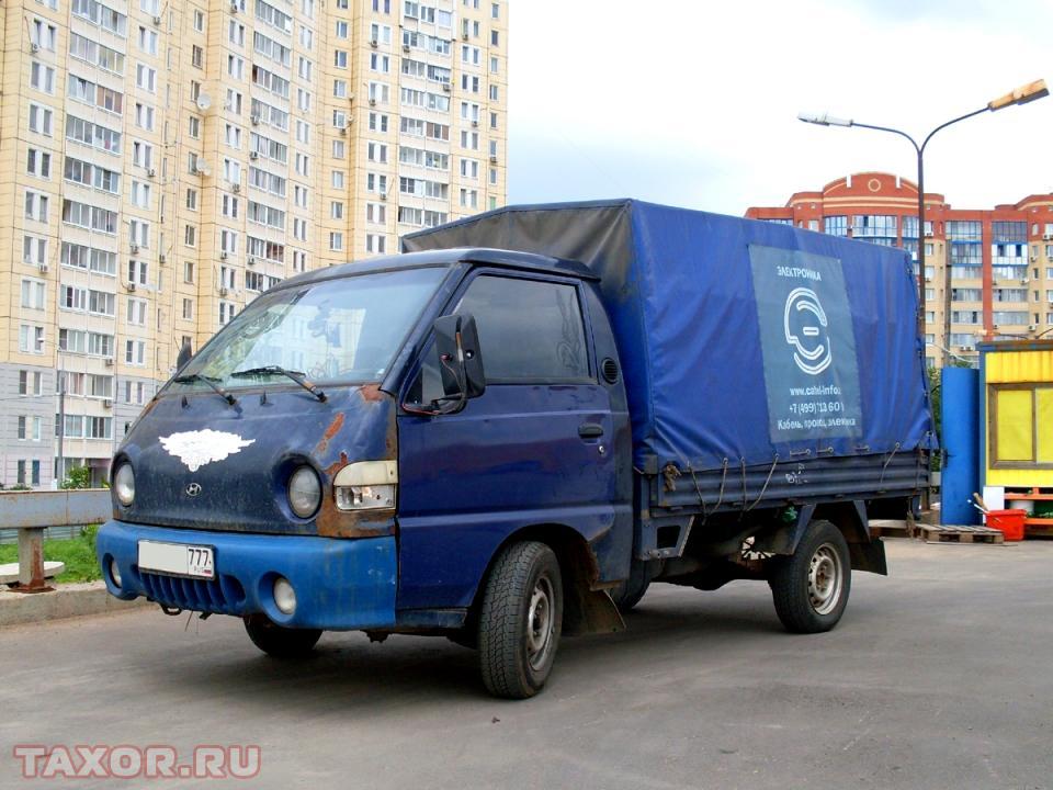 Снова Hyundai Porter, но на сей раз убитый в хлам