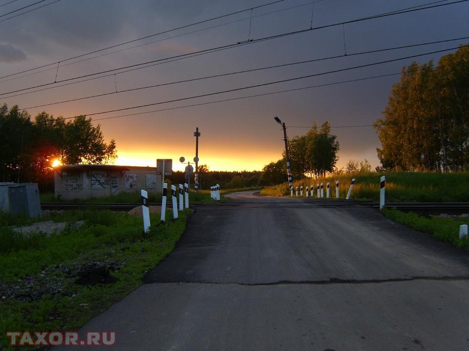 Закат над Подмосковьем