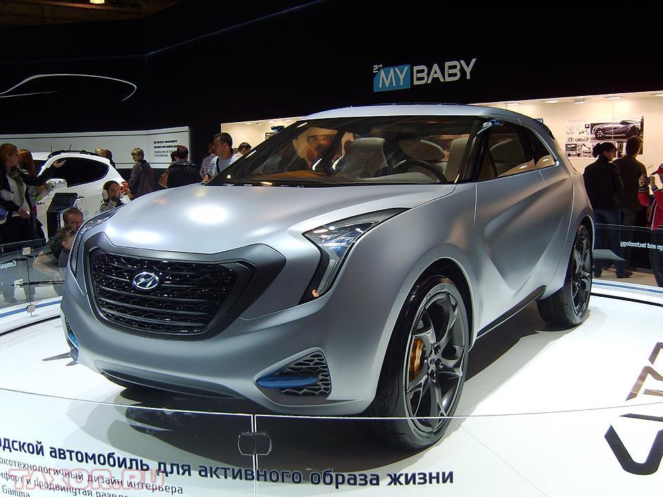 Компактный городской концепт-кар компании Hyundai