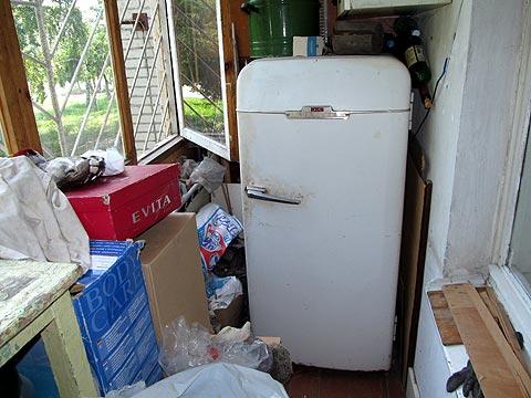 Советский холодильник «ЗИЛ» 1956 года выпуска