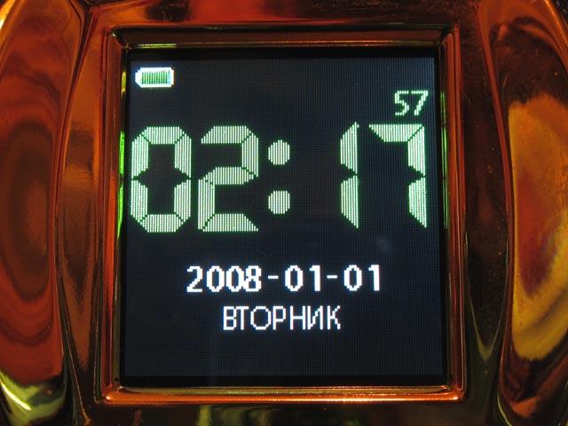 Режим часов у фоторамки DPFMate весьма детален
