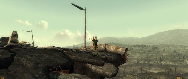 Fallout 3: селфи на краю моста