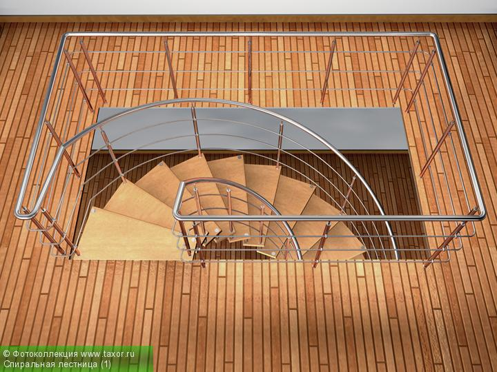 Галерея: 3D-галерея — Спиральная лестница (1)