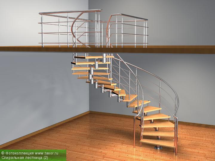 Галерея: 3D-галерея — Спиральная лестница (2)