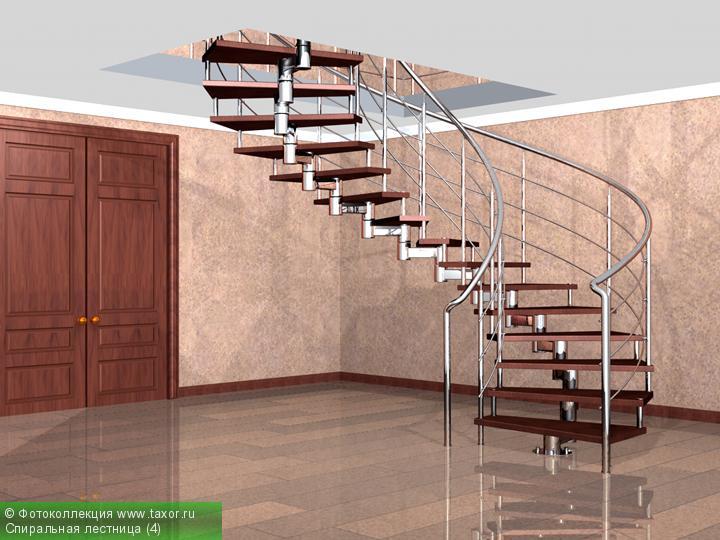 Галерея: 3D-галерея — Спиральная лестница (4)