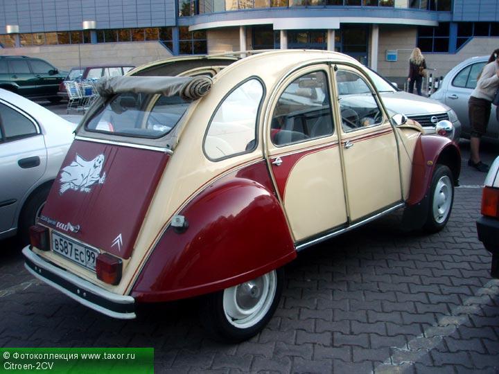 Галерея: Автоэкзотика, олдтаймеры и ретро-автомобили — Citroen-2CV