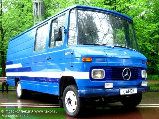 Галерея: Автоэкзотика, олдтаймеры и ретро-автомобили — Mercedes 608D