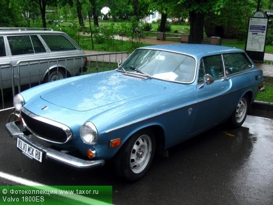 Галерея: Автоэкзотика, олдтаймеры и ретро-автомобили — Volvo 1800ES