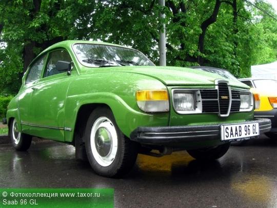 Галерея: Автоэкзотика, олдтаймеры и ретро-автомобили — Saab 96 GL