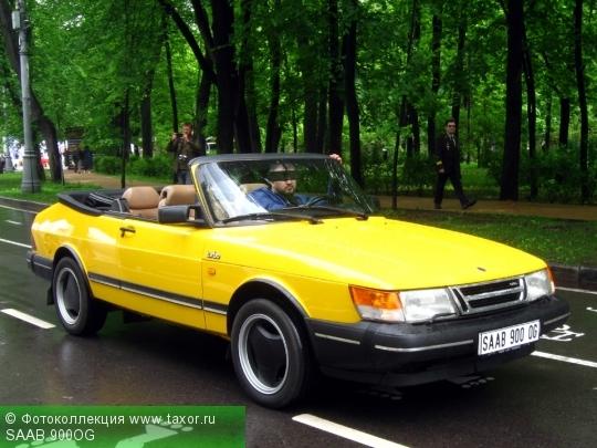 Галерея: Автоэкзотика, олдтаймеры и ретро-автомобили — SAAB 900OG