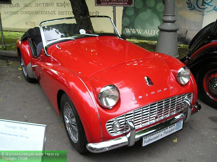 Галерея: Автоэкзотика, олдтаймеры и ретро-автомобили — Triumph-TR3A