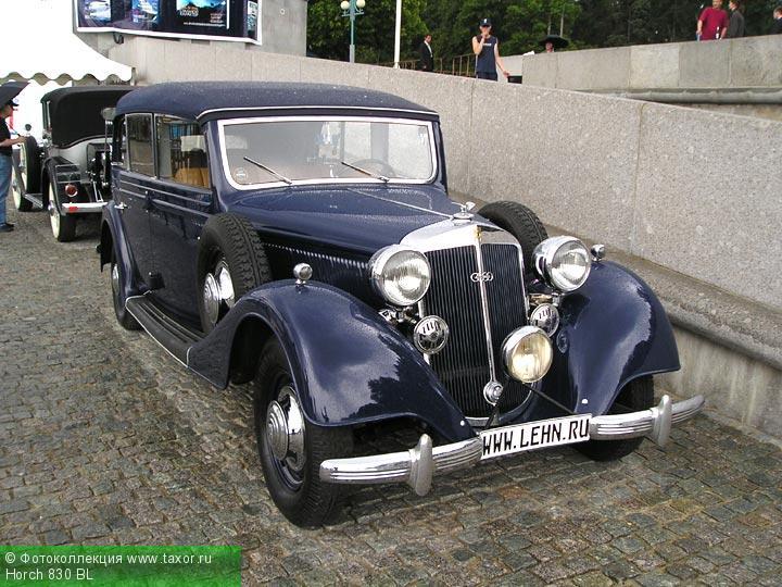 Галерея: Автоэкзотика, олдтаймеры и ретро-автомобили — Horch 830 BL