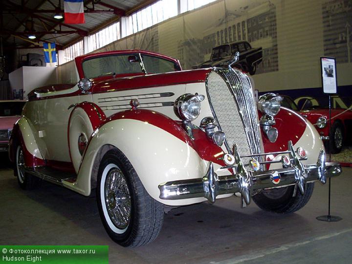 Галерея: Автоэкзотика, олдтаймеры и ретро-автомобили — Hudson Eight
