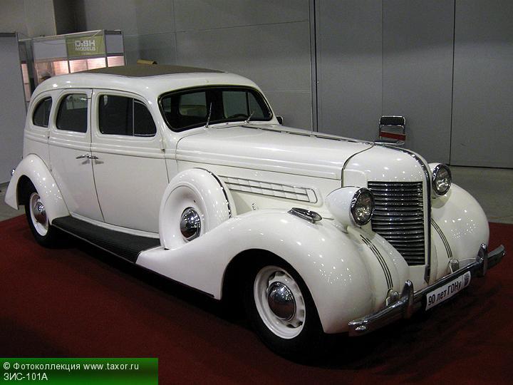 Галерея: Автоэкзотика, олдтаймеры и ретро-автомобили — ЗИС-101А