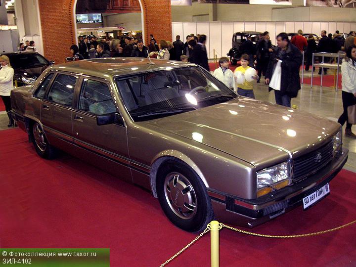 Галерея: Автоэкзотика, олдтаймеры и ретро-автомобили — ЗИЛ-4102