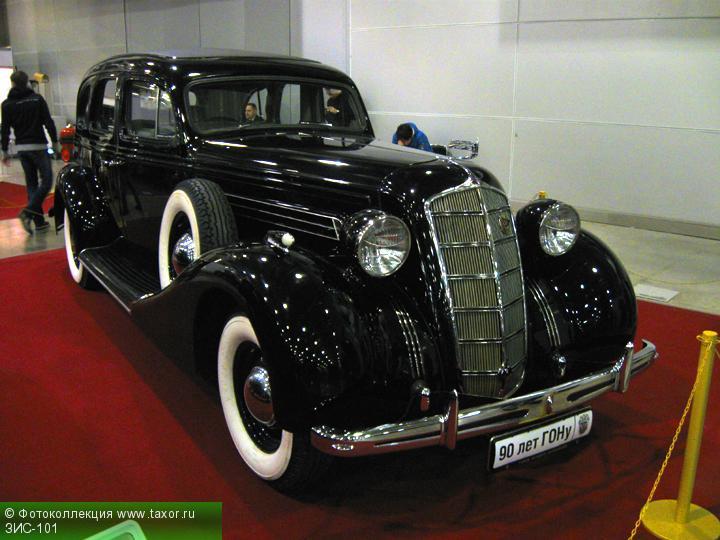 Галерея: Автоэкзотика, олдтаймеры и ретро-автомобили — ЗИС-101