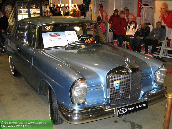Галерея: Автоэкзотика, олдтаймеры и ретро-автомобили — Mercedes W111 230S