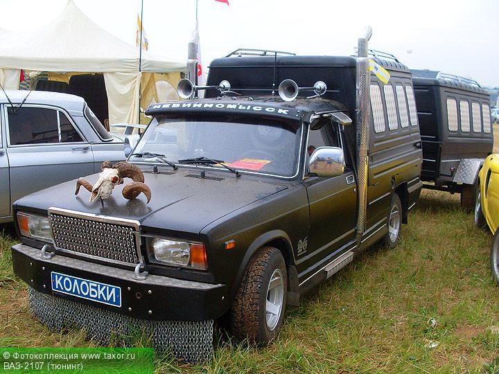 Галерея: Автоэкзотика, олдтаймеры и ретро-автомобили — ВАЗ-2107 (тюнинг)