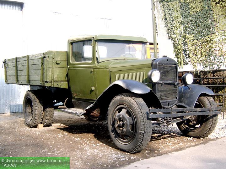 Галерея: Автоэкзотика, олдтаймеры и ретро-автомобили — ГАЗ-АА
