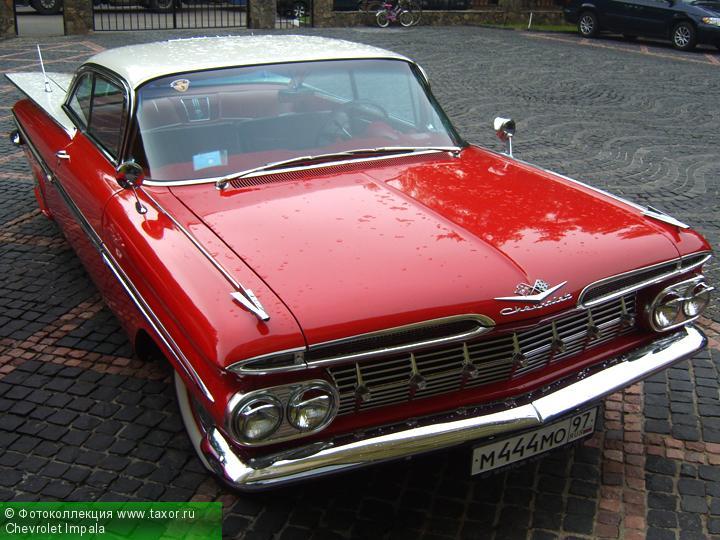 Галерея: Автоэкзотика, олдтаймеры и ретро-автомобили — Chevrolet Impala