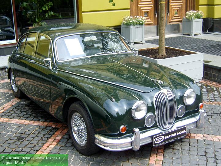 Галерея: Автоэкзотика, олдтаймеры и ретро-автомобили — Jaguar Mark 2