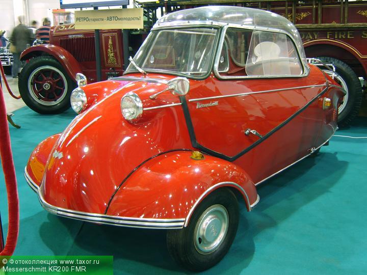 Галерея: Автоэкзотика, олдтаймеры и ретро-автомобили — Messerschmitt KR200 FMR