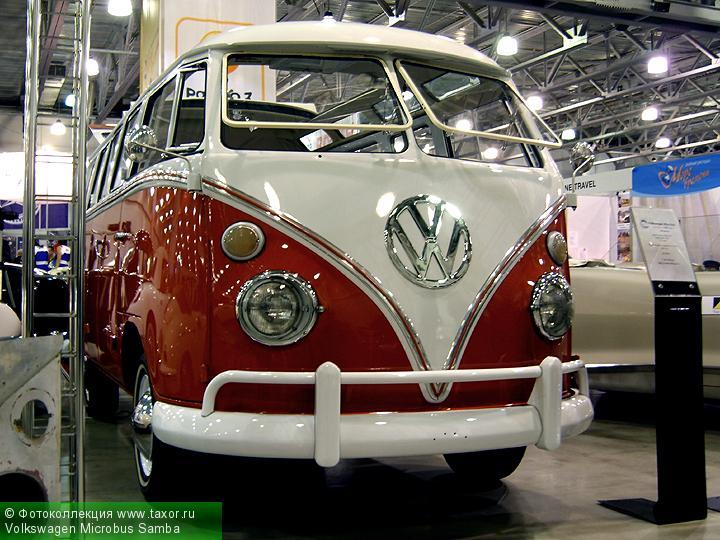 Галерея: Автоэкзотика, олдтаймеры и ретро-автомобили — Volkswagen Microbus Samba