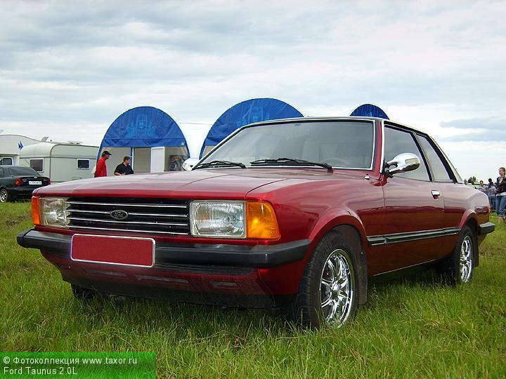 Галерея: Автоэкзотика, олдтаймеры и ретро-автомобили — Ford Taunus 2.0L