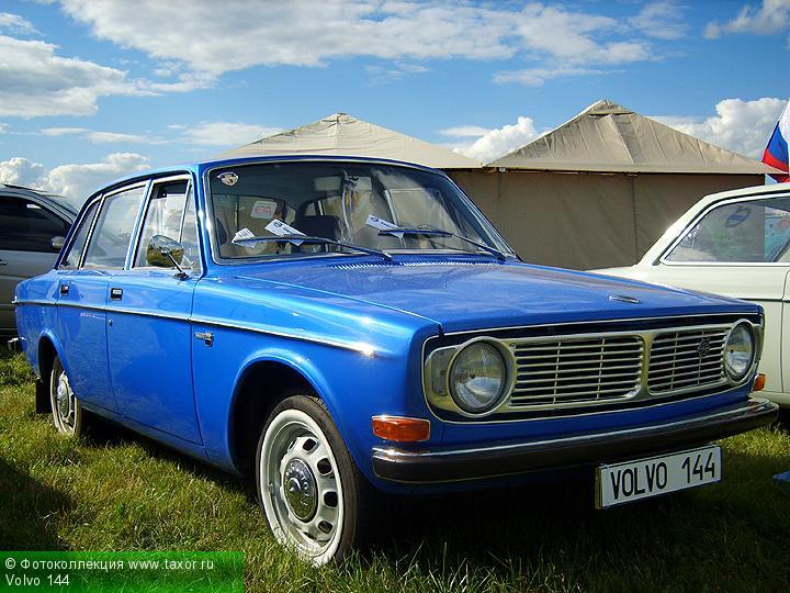 Галерея: Автоэкзотика, олдтаймеры и ретро-автомобили — Volvo 144