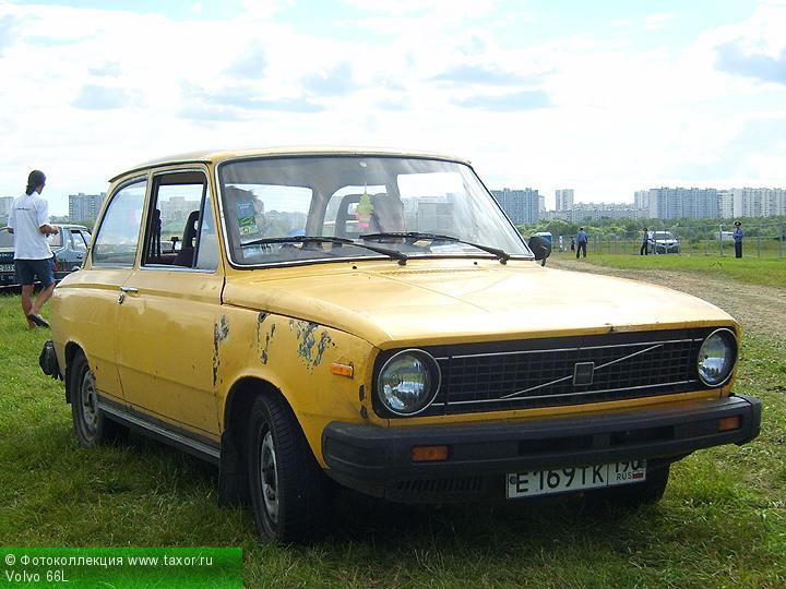 Галерея: Автоэкзотика, олдтаймеры и ретро-автомобили — Volvo 66L