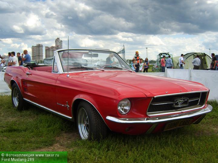 Галерея: Автоэкзотика, олдтаймеры и ретро-автомобили — Ford Mustang 289