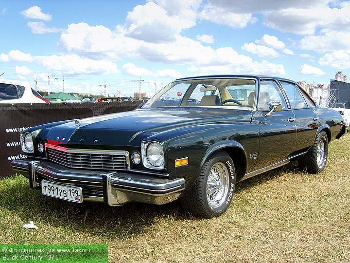 Галерея: Автоэкзотика, олдтаймеры и ретро-автомобили — Buick Century 1975
