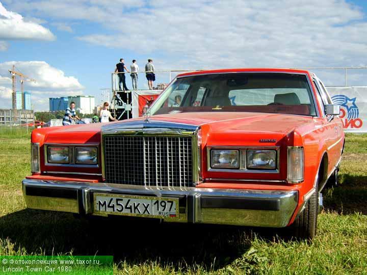 Галерея: Автоэкзотика, олдтаймеры и ретро-автомобили — Lincoln Town Car 1980