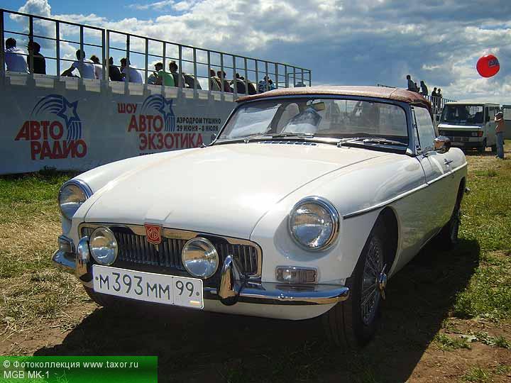 Галерея: Автоэкзотика, олдтаймеры и ретро-автомобили — MGB MK-1