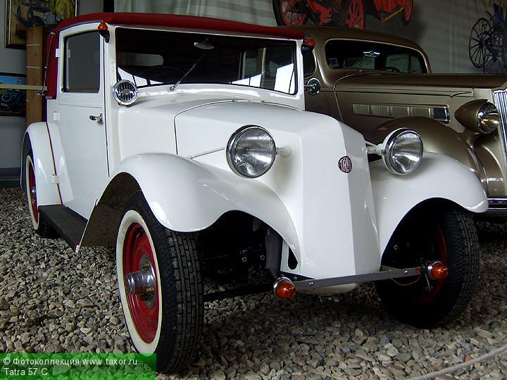 Галерея: Автоэкзотика, олдтаймеры и ретро-автомобили — Tatra 57 C