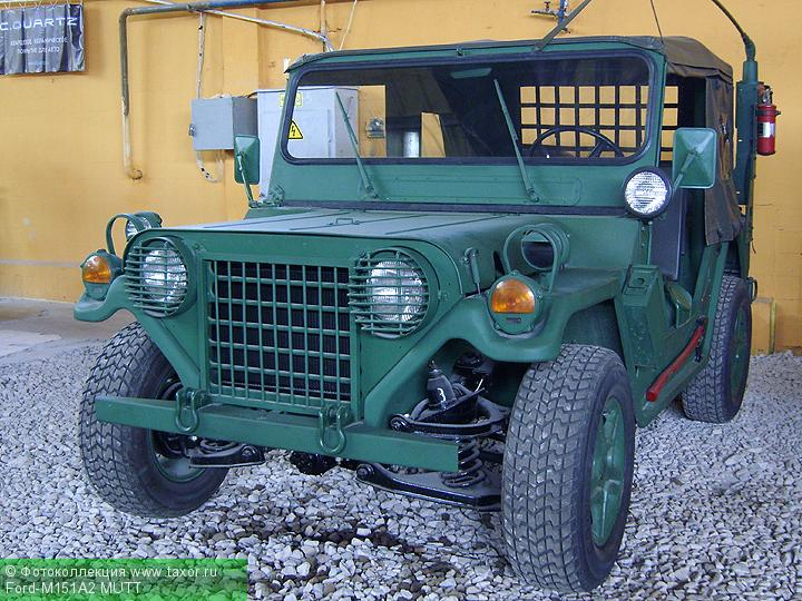 Галерея: Автоэкзотика, олдтаймеры и ретро-автомобили — Ford-M151A2 MUTT