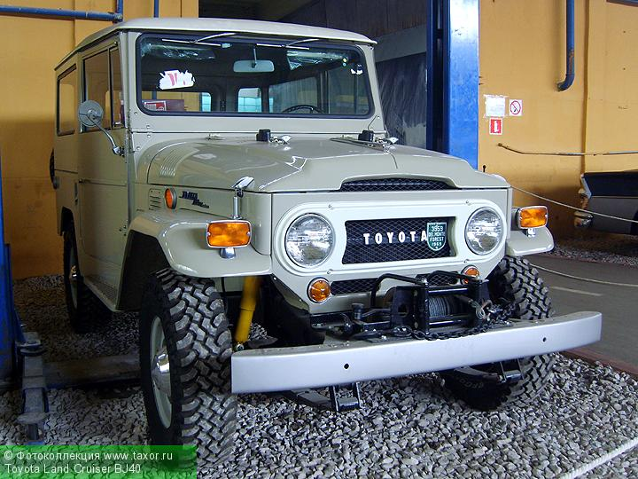 Галерея: Автоэкзотика, олдтаймеры и ретро-автомобили — Toyota Land Cruiser BJ40