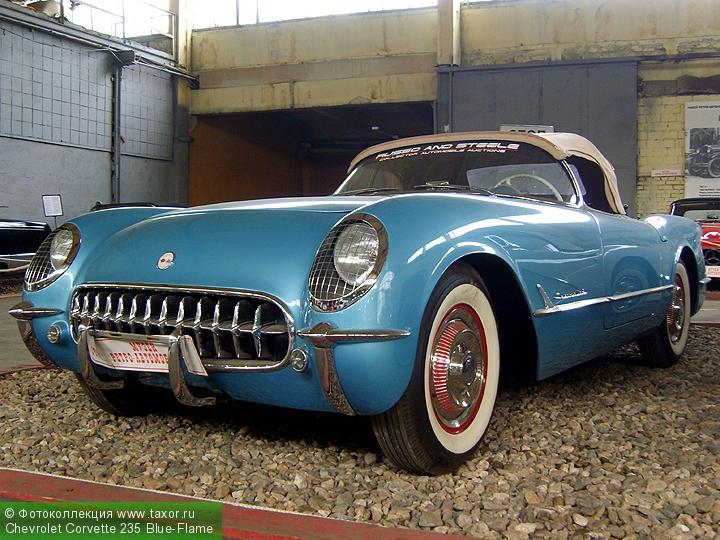 Галерея: Автоэкзотика, олдтаймеры и ретро-автомобили — Сhevrolet Сorvette 235 Blue-Flame