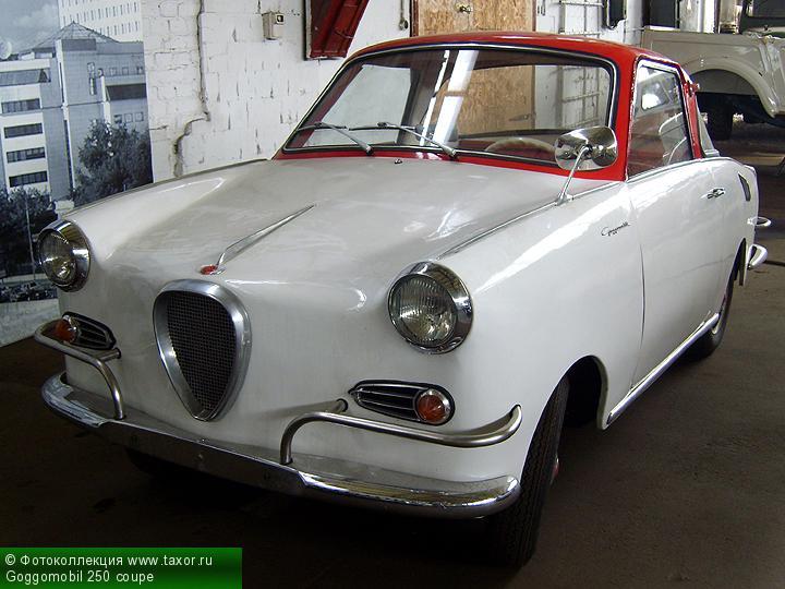 Галерея: Автоэкзотика, олдтаймеры и ретро-автомобили — Goggomobil 250 coupe