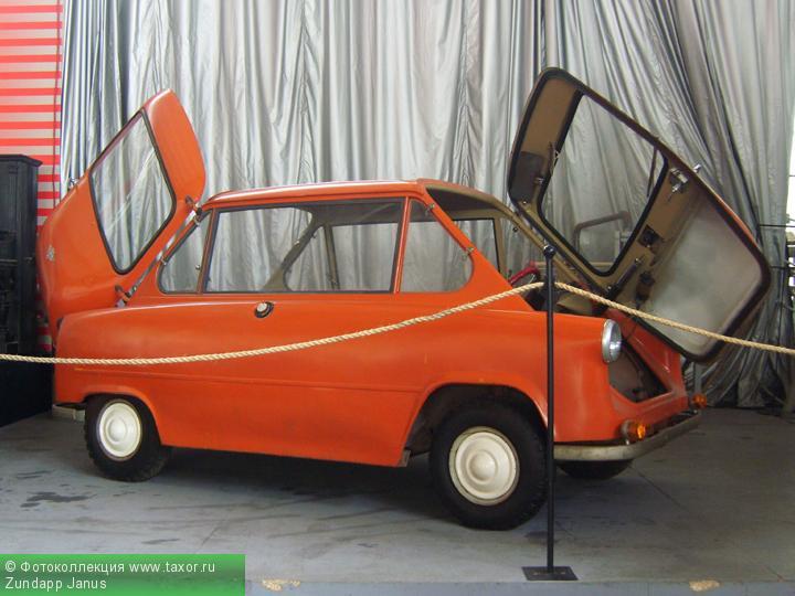 Галерея: Автоэкзотика, олдтаймеры и ретро-автомобили — Zundapp Janus