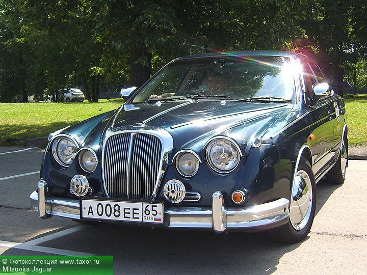 Галерея: Автоэкзотика, олдтаймеры и ретро-автомобили — Mitsuoka Jaguar