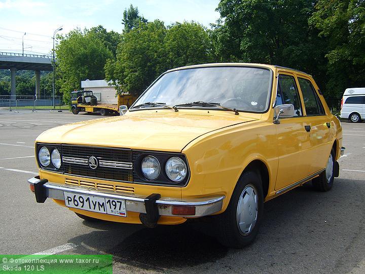 Галерея: Автоэкзотика, олдтаймеры и ретро-автомобили — Skoda 120 LS