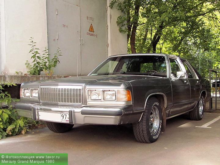 Галерея: Автоэкзотика, олдтаймеры и ретро-автомобили — Mercury Grand Marquis 1980