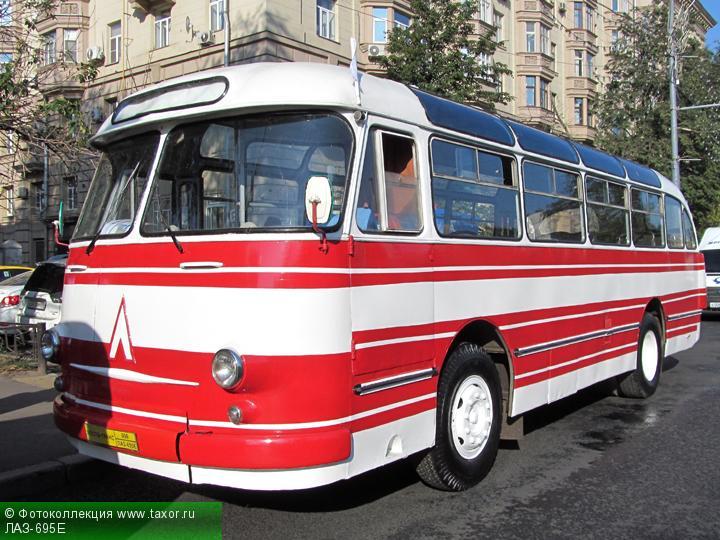 Галерея: Автоэкзотика, олдтаймеры и ретро-автомобили — ЛАЗ-695Е