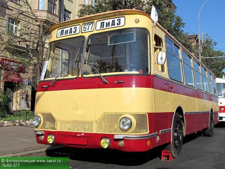 Галерея: Автоэкзотика, олдтаймеры и ретро-автомобили — ЛиАЗ-677