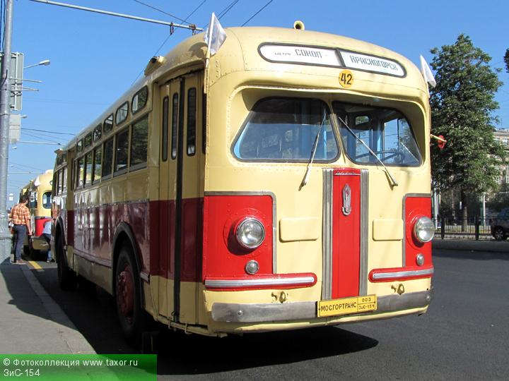 Галерея: Автоэкзотика, олдтаймеры и ретро-автомобили — ЗиС-154