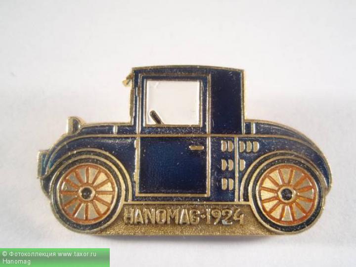Галерея: История автомобилей мира в значках — Hanomag