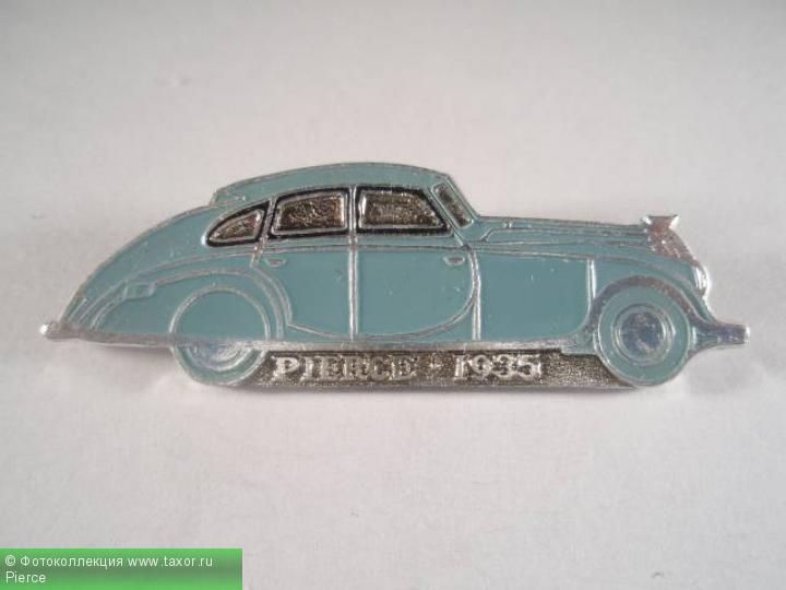 Галерея: История автомобилей мира в значках — Pierce