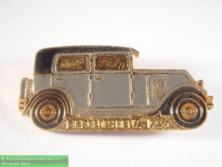 Галерея: История автомобилей мира в значках — Mersedes Benz